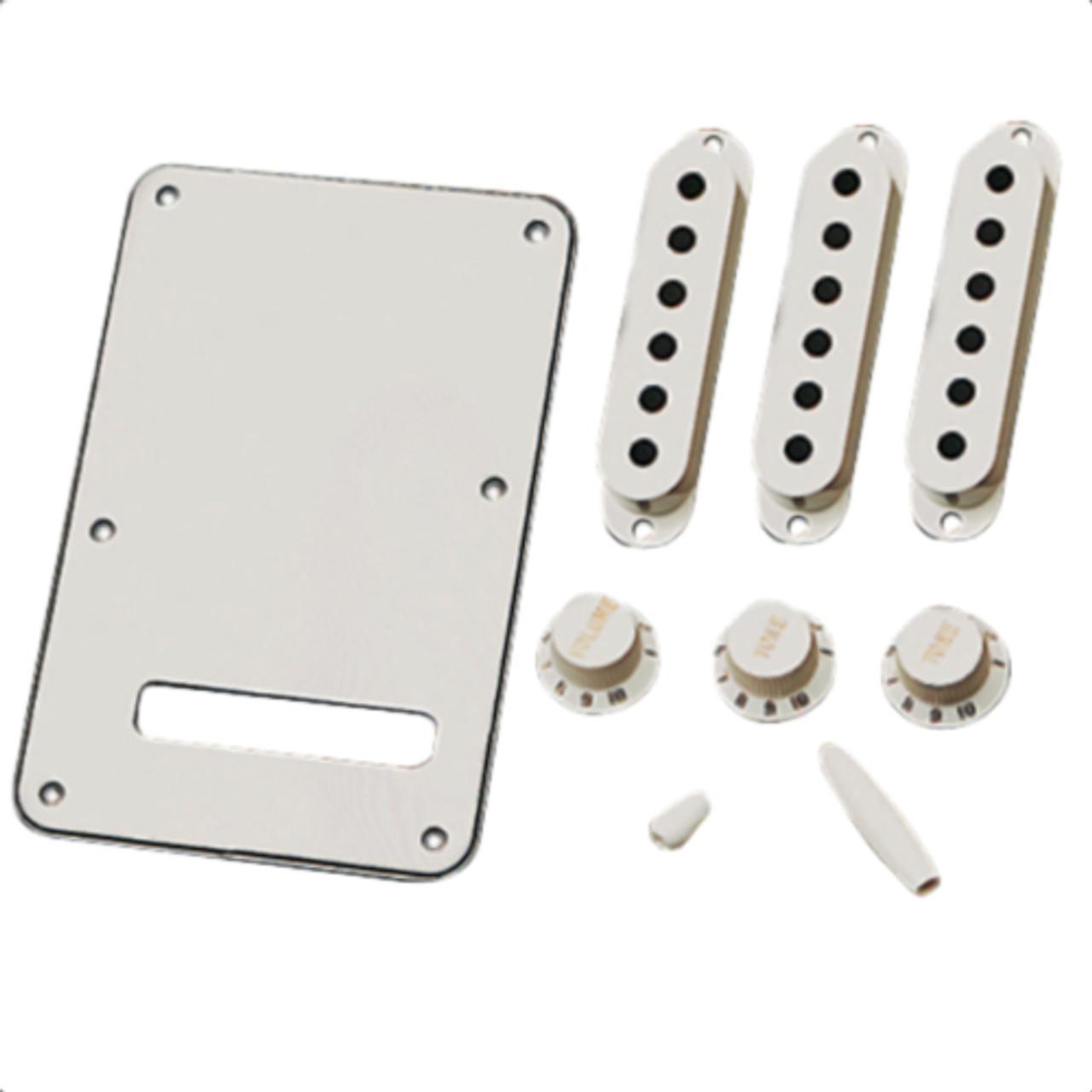 Original Fender Strat Accessory Kit - Parchment