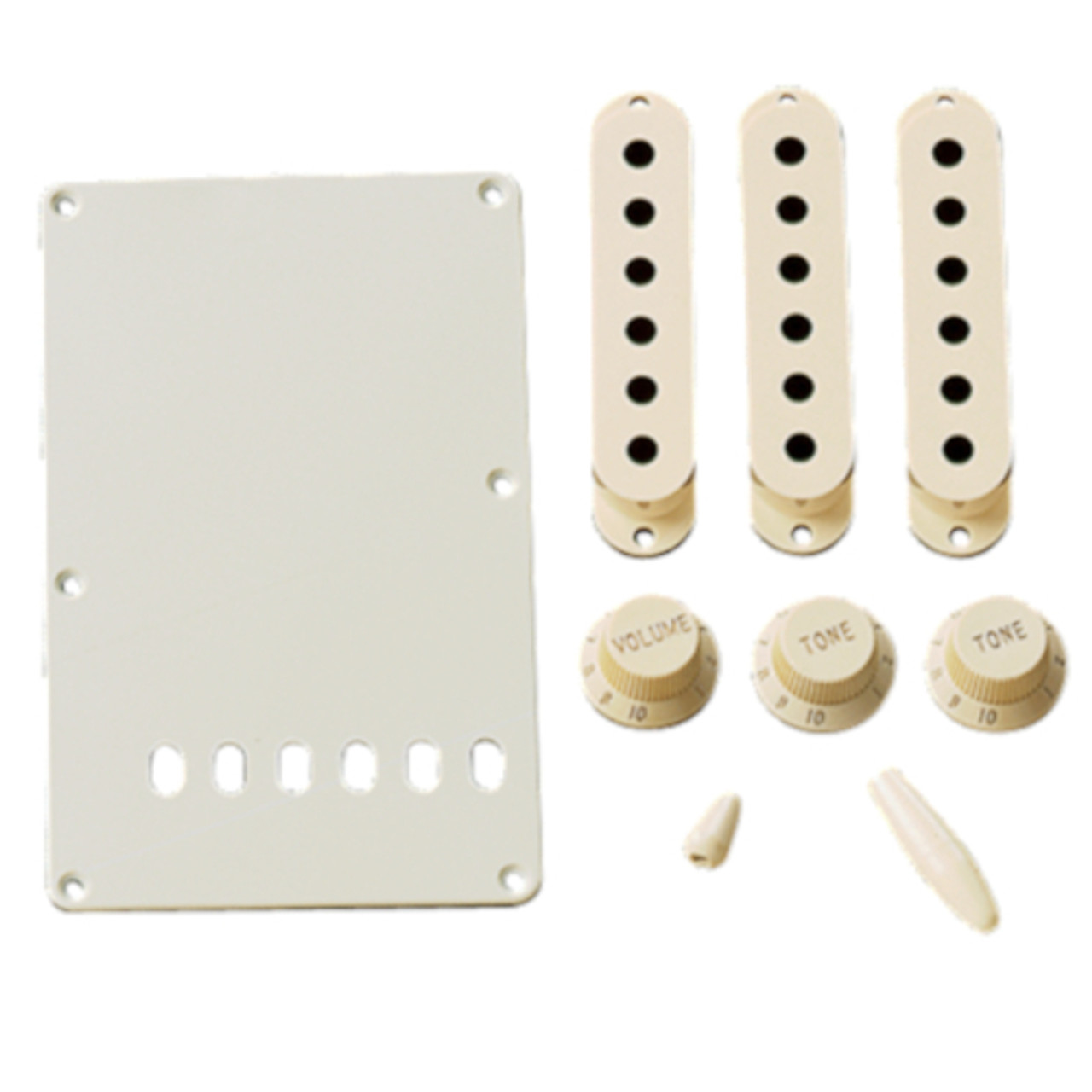 Original Fender Strat Accessory Kit - Aged