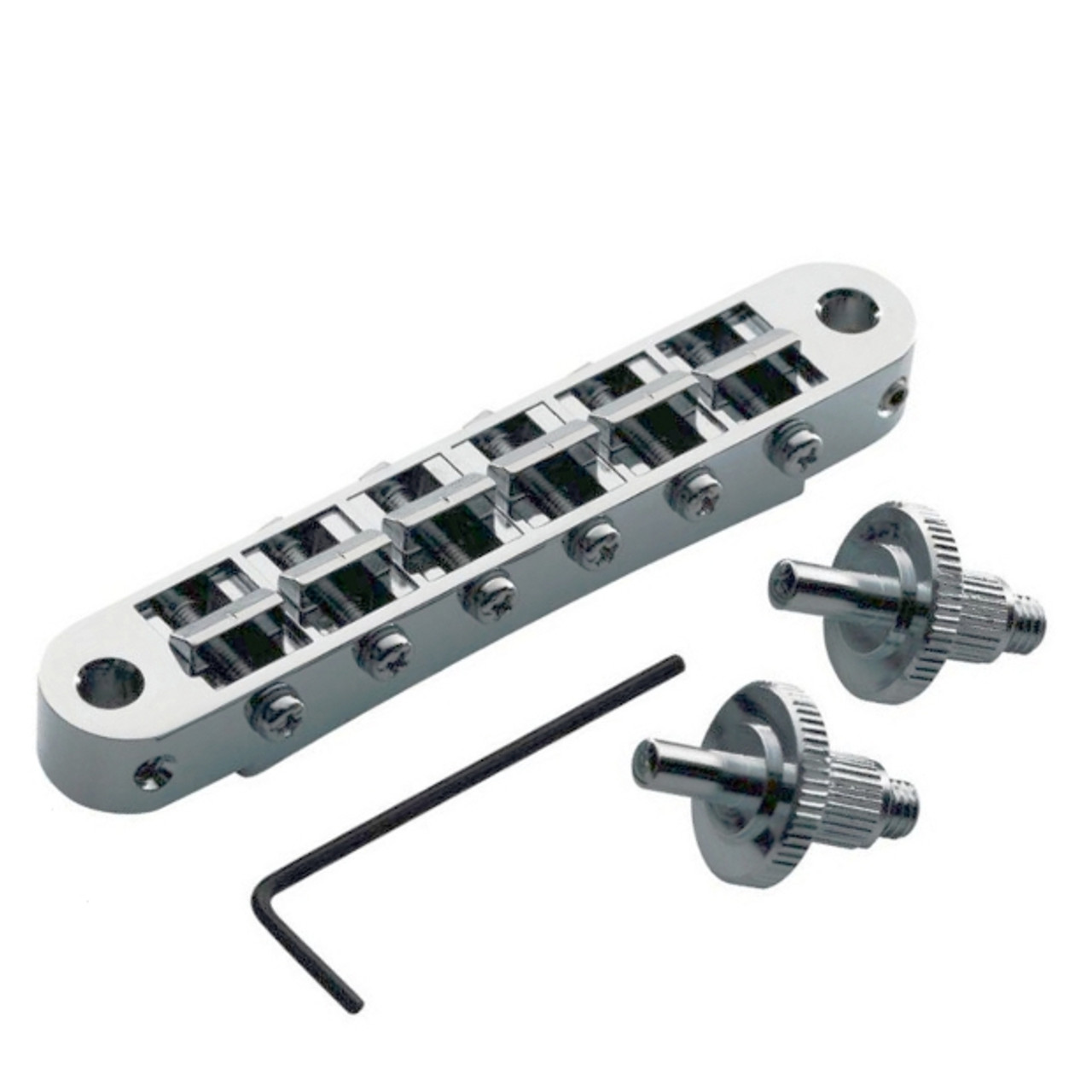TonePros Nashville Tunematic Locking Bridge-Chrome