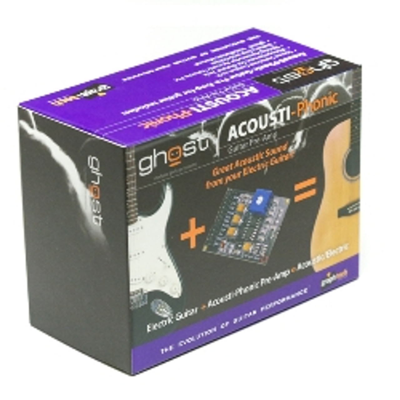 Graph Tech Ghost Acousti-Phonic Guitar Preamp Packaged
