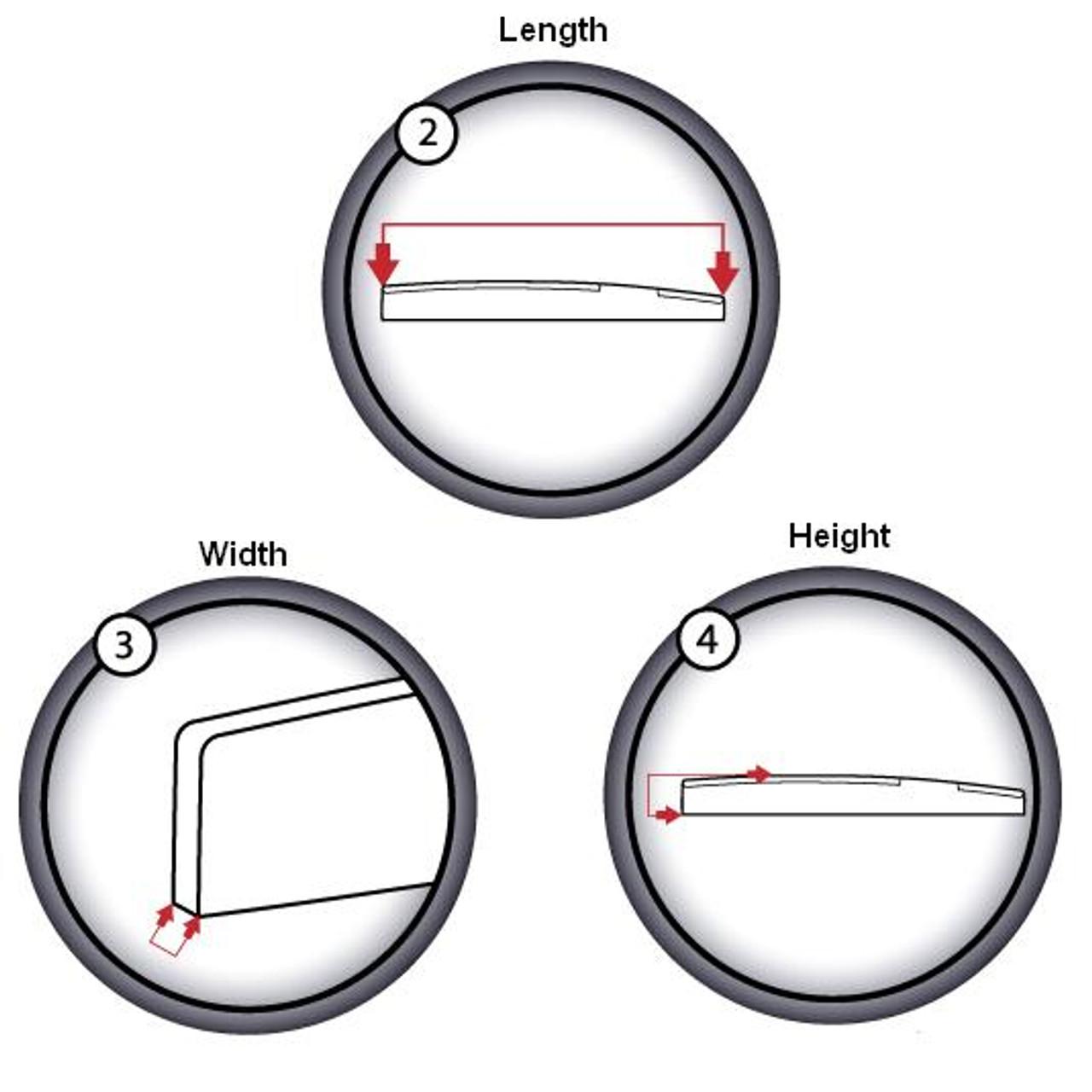 "Graph Tech TUSQ 1/8"" Acoustic Saddle Blank PQ-9000-00"