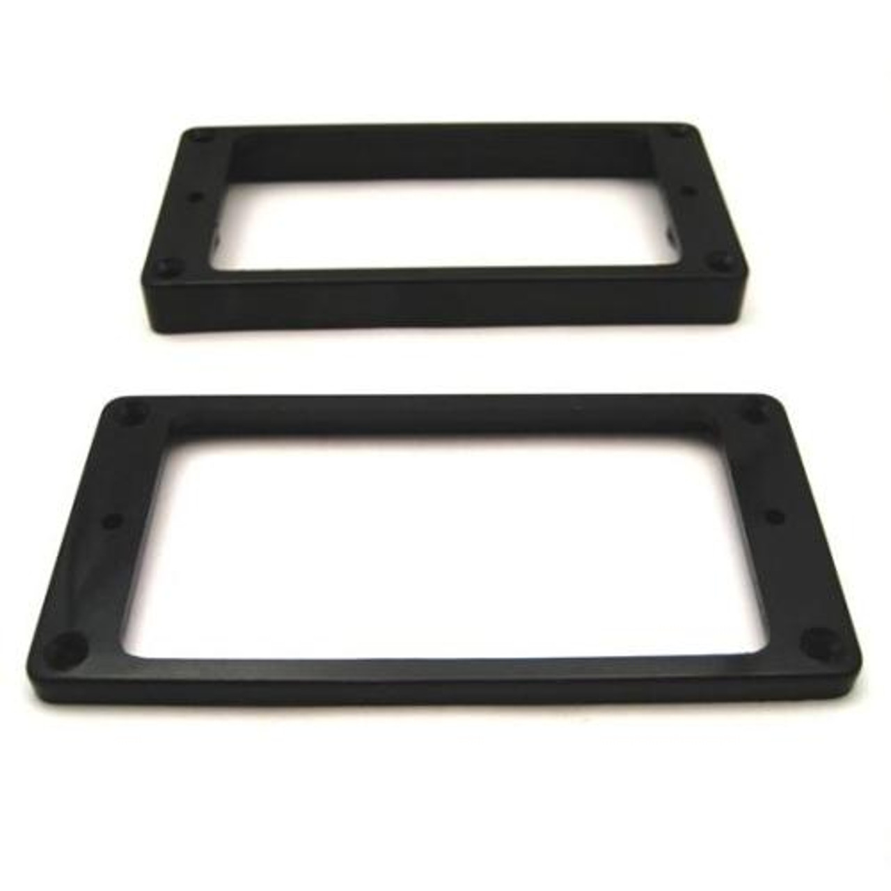 Humbucker Ring Set-Tapered w/ Flat Bottoms-Black