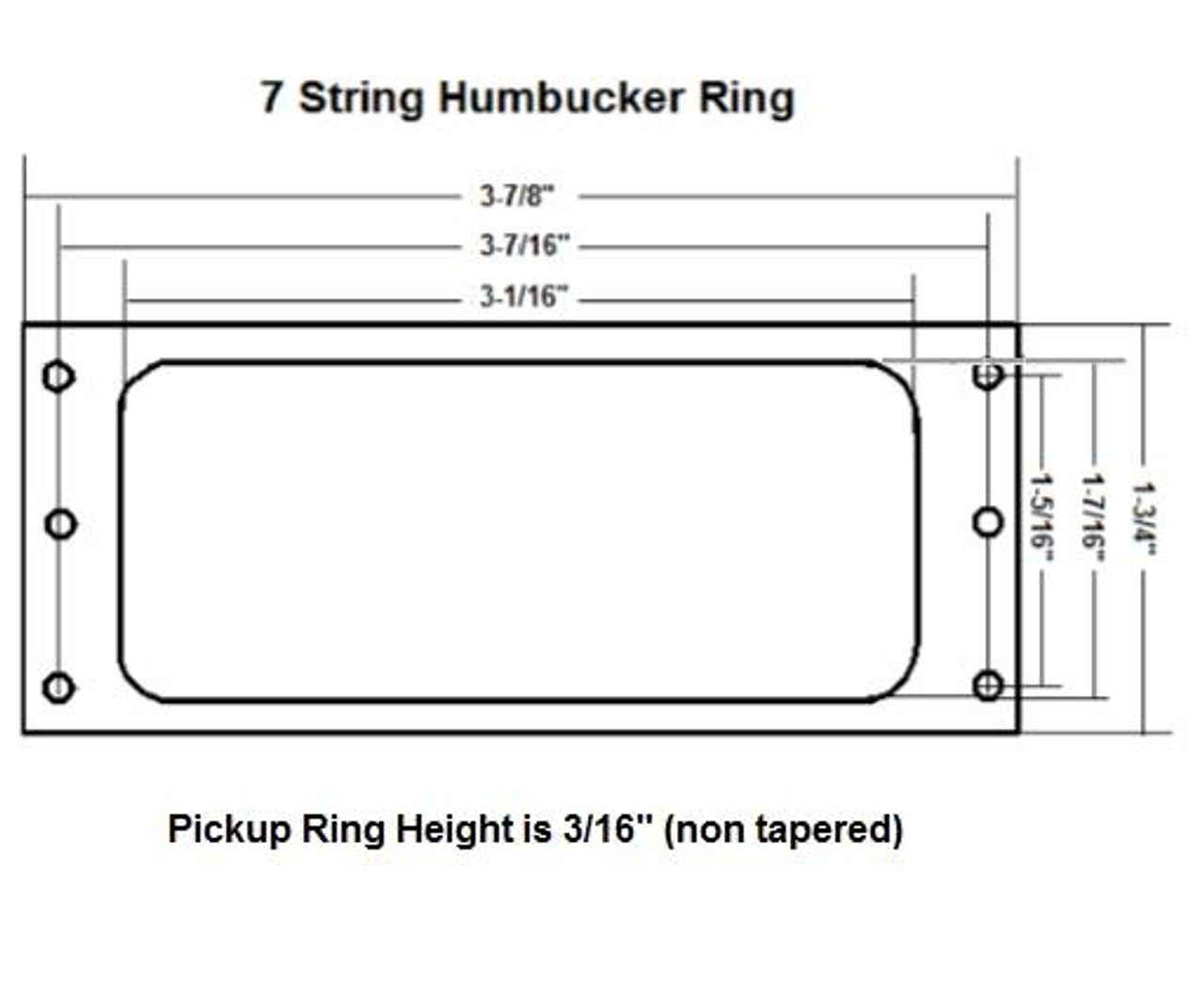 7-String Humbucker Ring