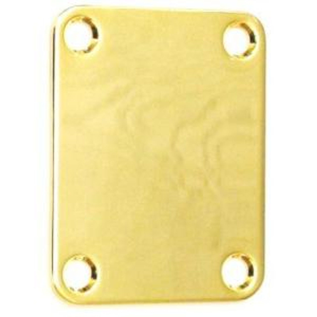 Guitar & Bass Neck Mounting Plate-Gold