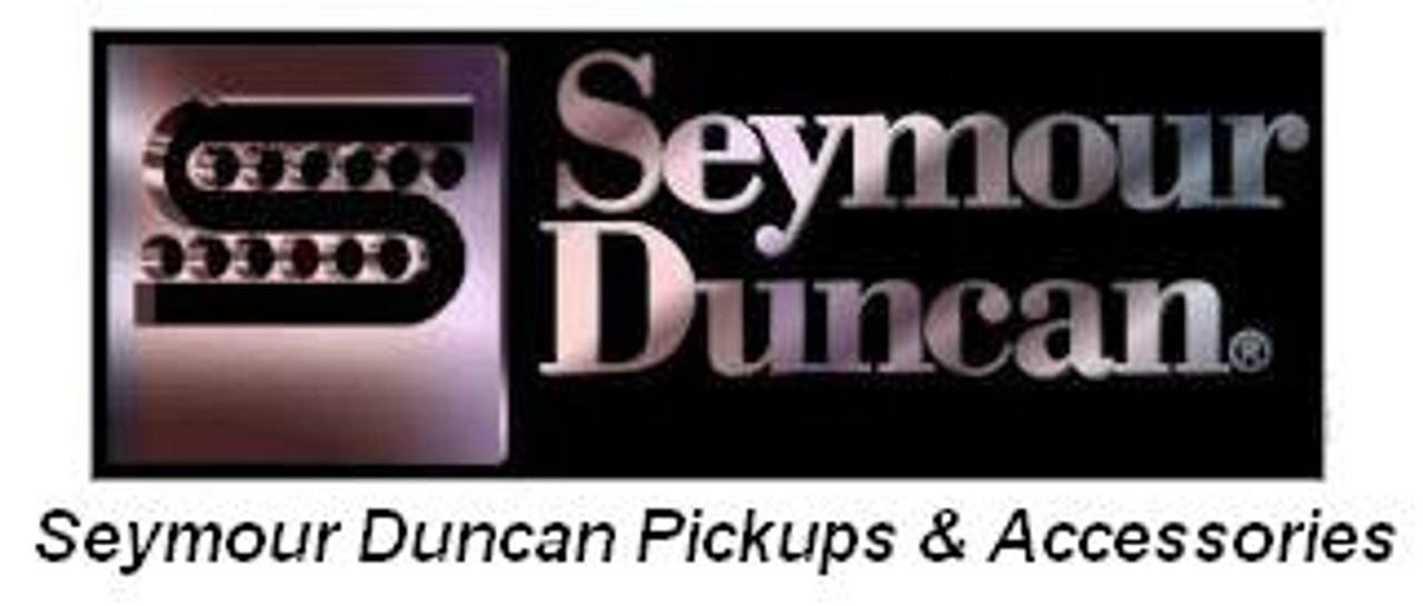 Seymour Duncan Hot Stack Pickup Cover-Black with Logo