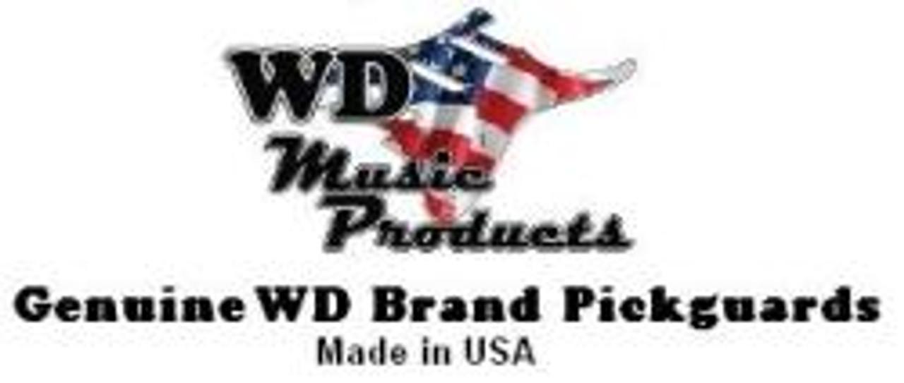 American Standard Jazz Bass Pickguard-3Ply Black