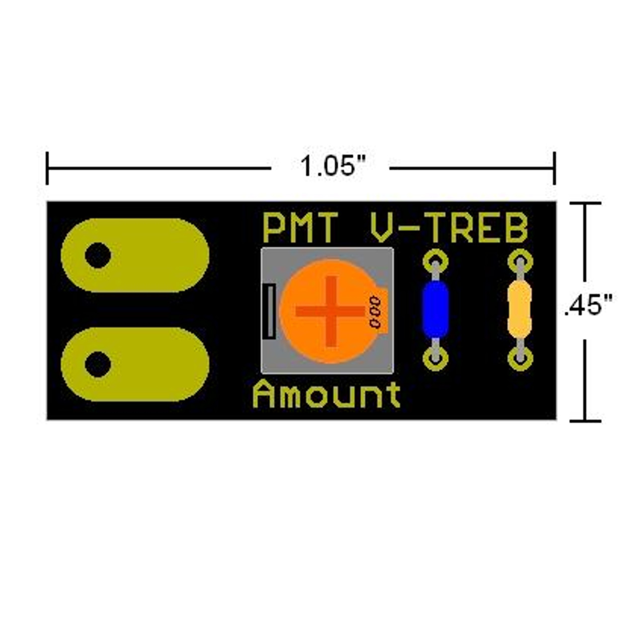 V-Treb Variable Treble Bleed Circuit 3-Pack
