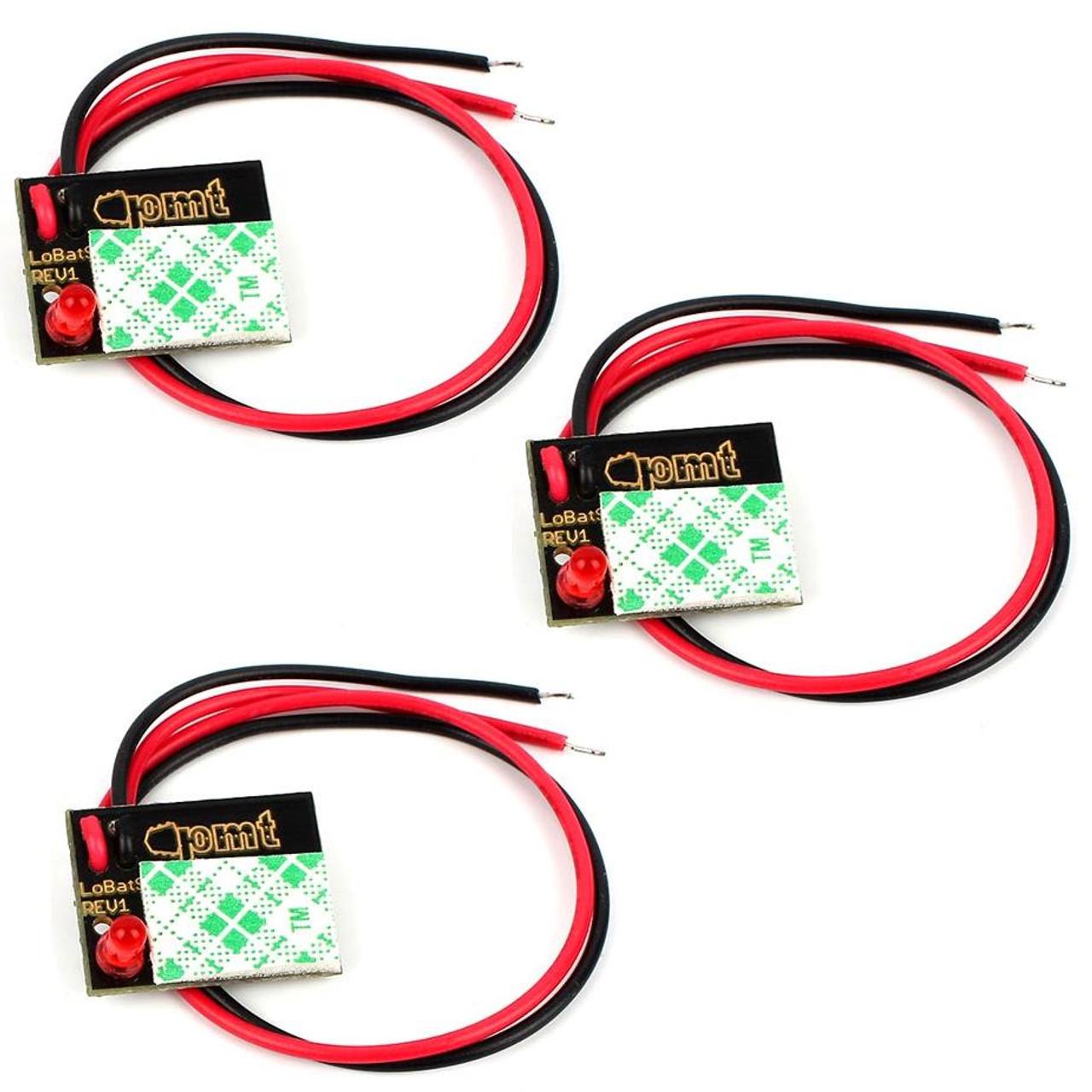 Lo-Bat Low Battery Indicator Top (3 pack)