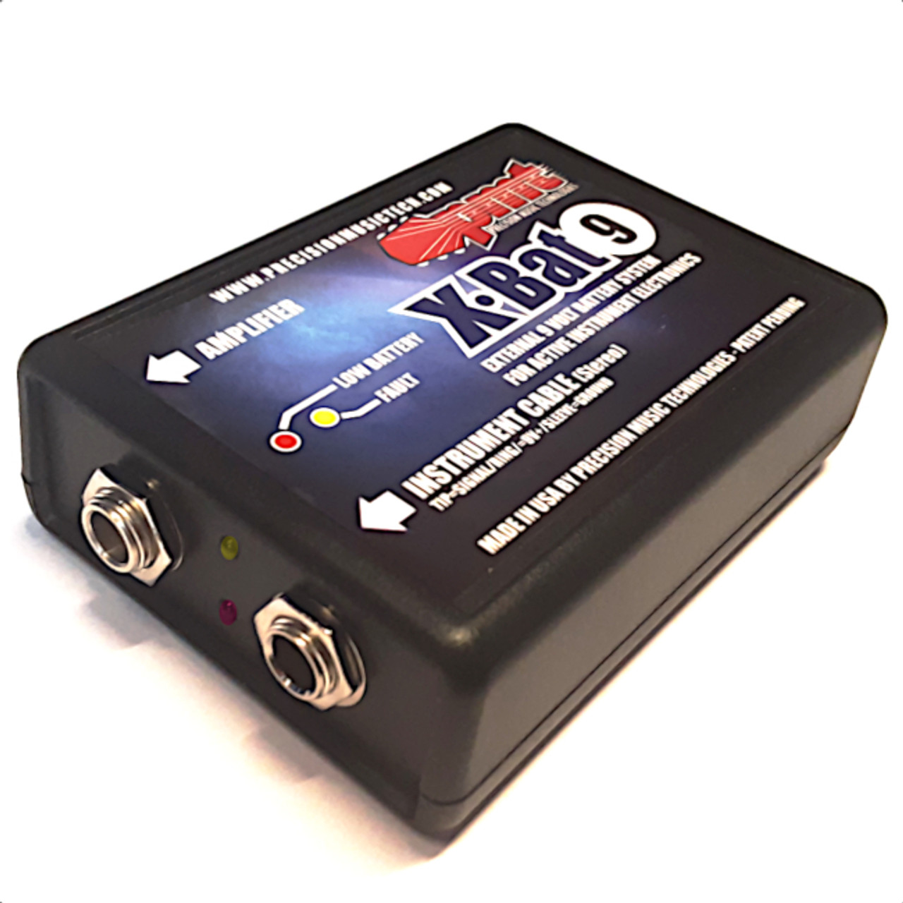 External Battery System for Active Guitar & Bass Electronics