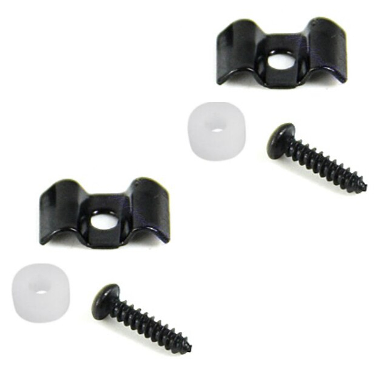 String Tree Retainer Guides For Guitar-Black