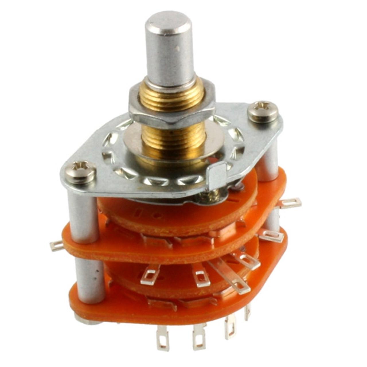 6-Way Rotary Pickup Selector Switch