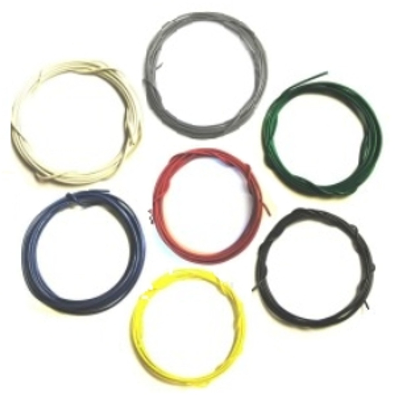 26 Gauge Wire >> Stranded 26 Gauge Guitar Circuit Wire Bulk Pack 7 Colors