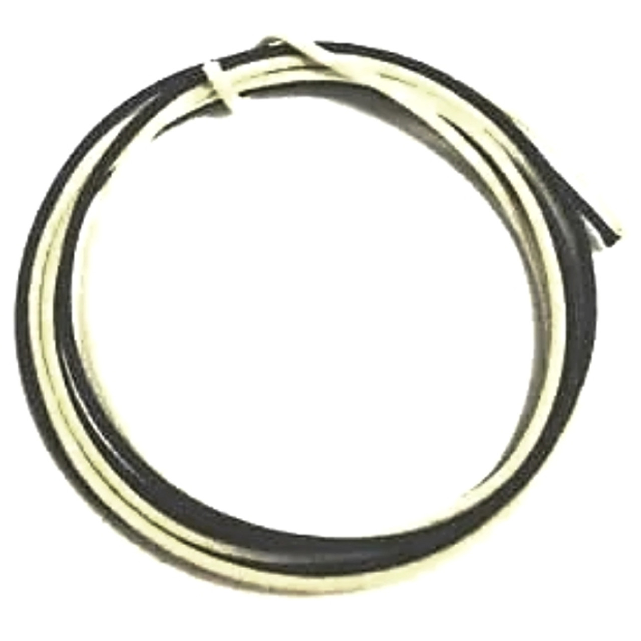 Cloth Covered  Vintage Style Stranded Guitar Wire-Black and White