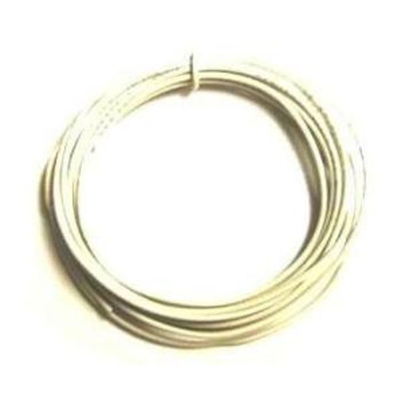 Solid Core 22 Gauge Guitar Circuit Wire-White