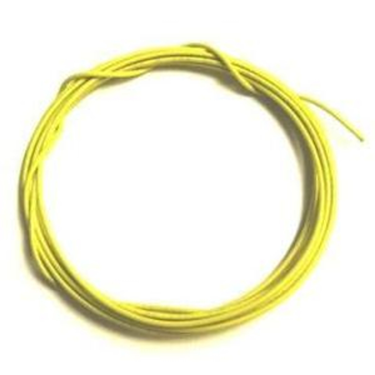 Solid Core 22 Gauge Guitar Circuit Wire-Yellow