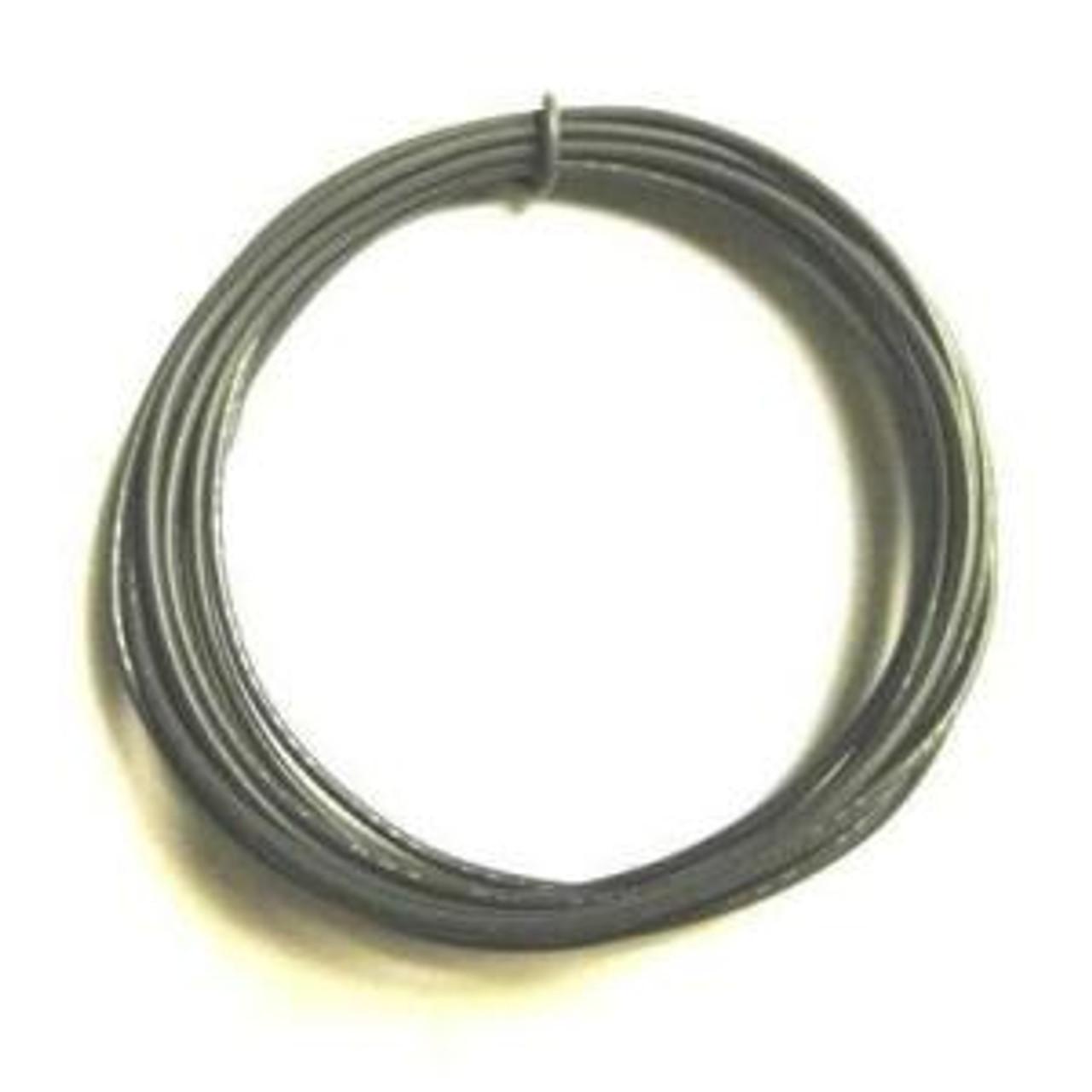 Solid Core 22 Gauge Guitar Circuit Wire-Gray