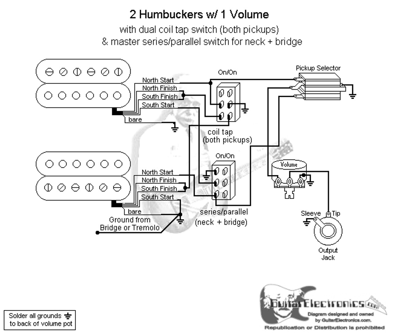2 humbuckers 3 way toggle switch 1 volume coil tap wiring diagram for reversing switch split coil wiring for toggle switch diagram #1