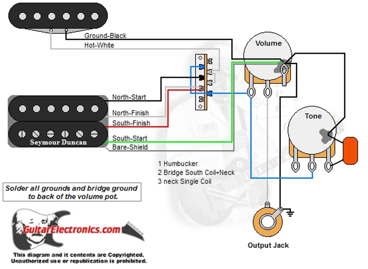 1 humbucker 1 single coil 3 way lever switch 1 volume 1 tone 011 humbucker 1 single coil 3 way lever 1 volume 1