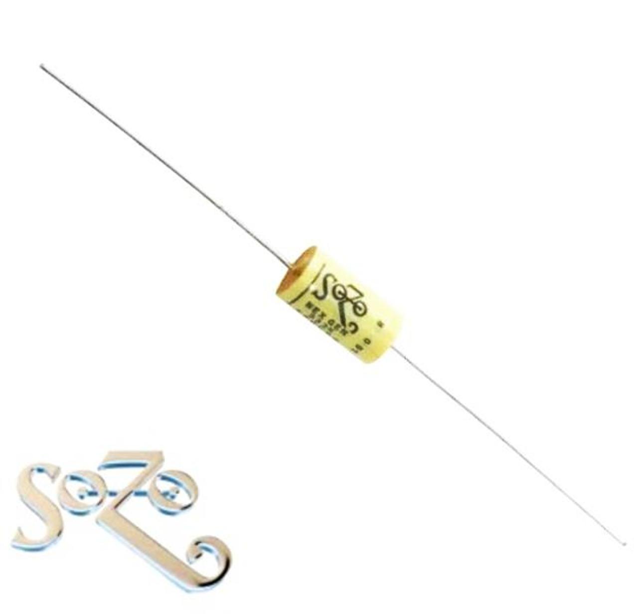 SoZo .033 Microfarad Next Gen Vintage Style Mustard Capacitor
