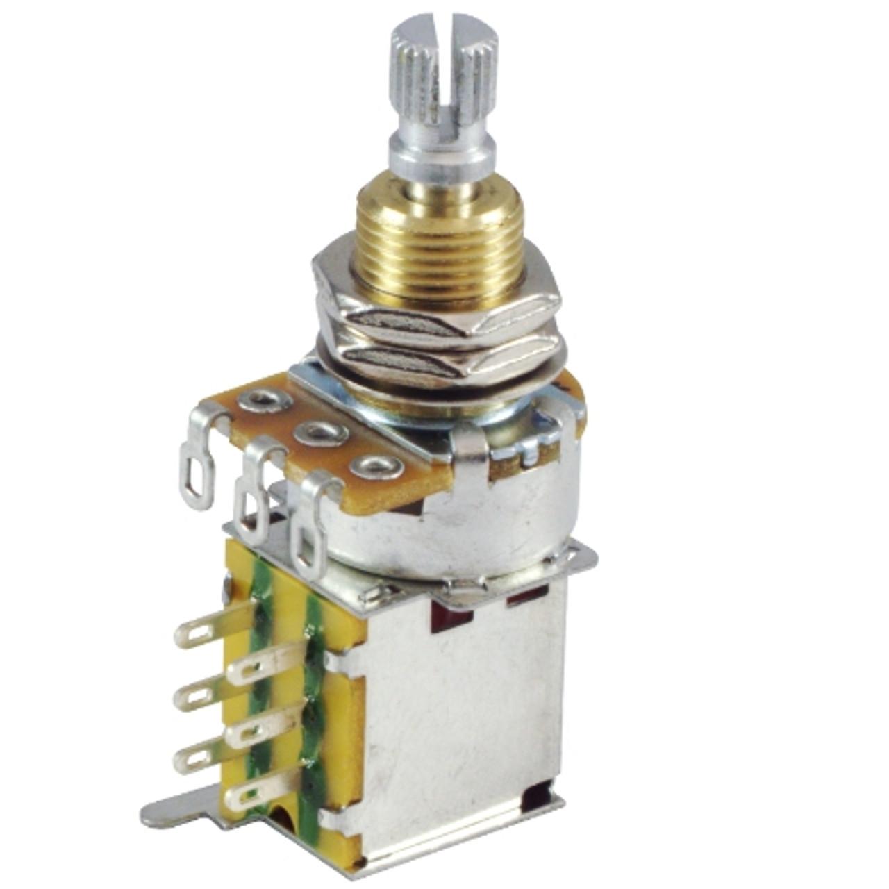 250K Audio Guitar Pot w/ Push-Push Switch