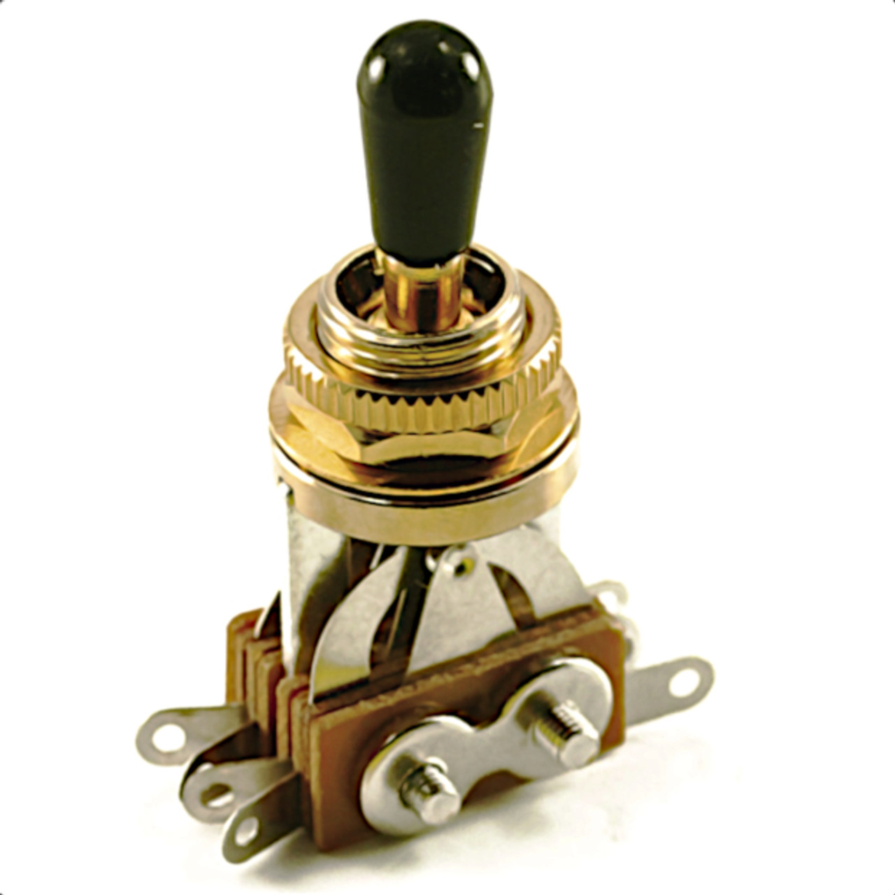 Three Pickup 3-Way Guitar Toggle Switch-Gold
