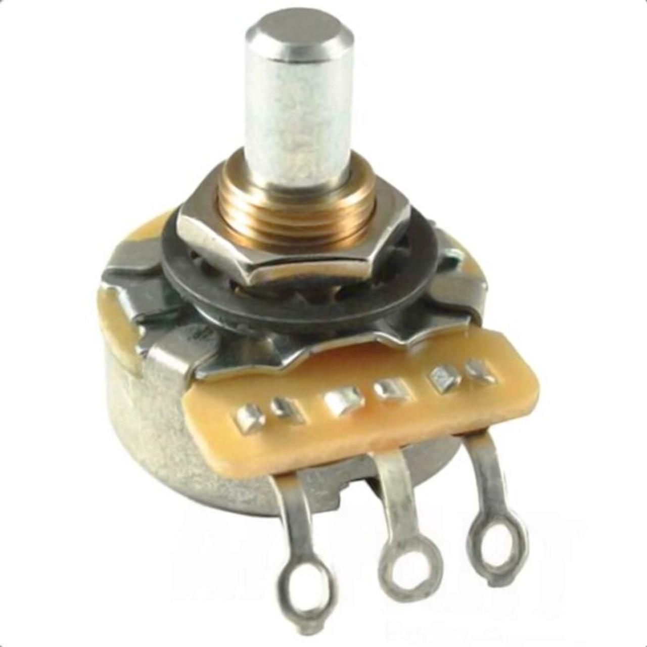 CTS 1Meg Ohm Audio Taper Guitar Pot w/ Solid Shaft