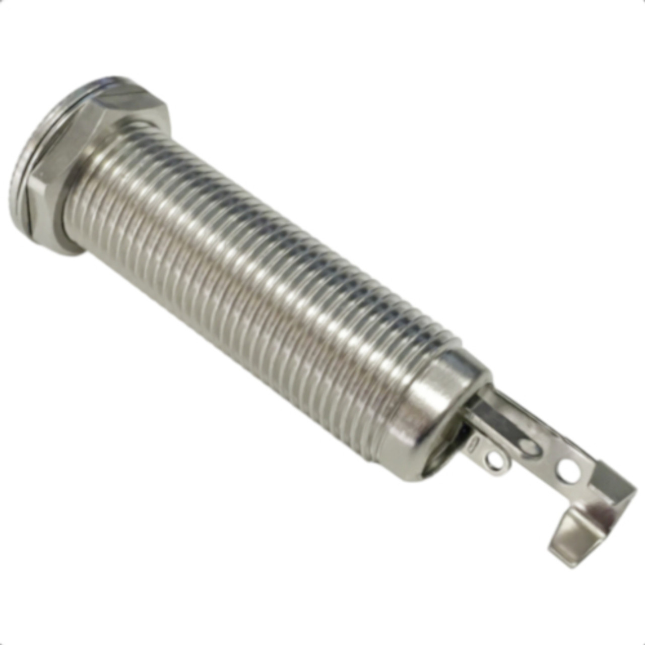 """Pure Tone High Contact 1/4"""" Stereo Barrel Jack For Guitar & Bass-Rear"""