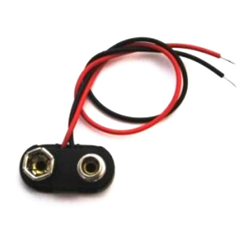 9 Volt Battery Connector for Guitar & Bass-T Type