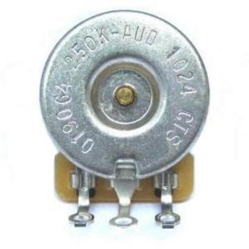 fender 250k volume & tone control-split shaft bottom