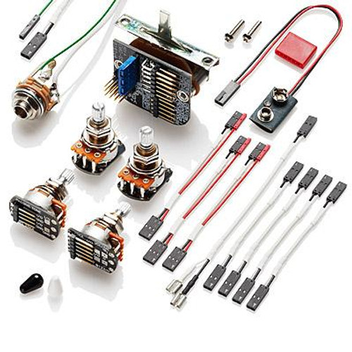 EMG 3 Pickup Solderless Electronics Conversion Kit