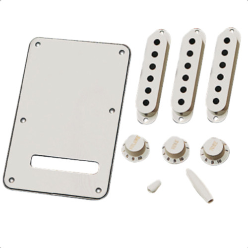 Original Fender Strat Accessory Kit - Parchment