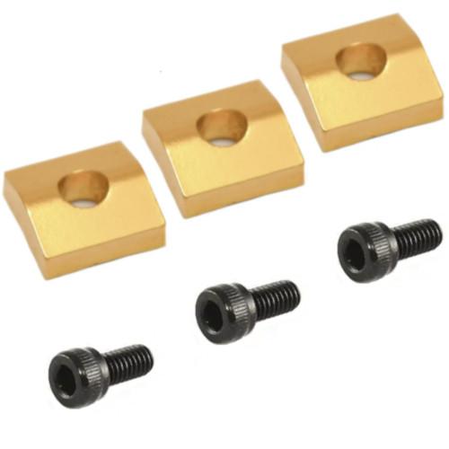 Floyd Rose Locking Nut Blocks - Gold