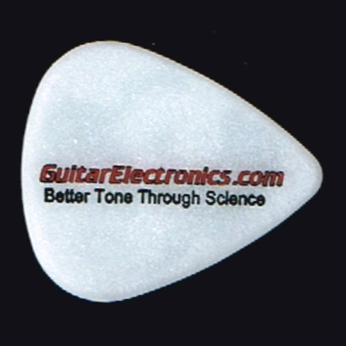 Guitar Electronics Einstein Logo Guitar Pick-Heavy Gauge 1.0mm