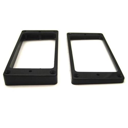 Humbucker Ring Set-Tapered w/ Flat Bottoms-Black Side