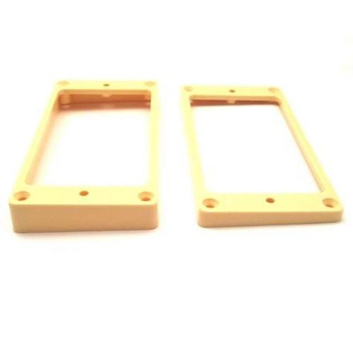 Humbucker Ring Set-Tapered w/ Flat Bottoms-Cream Side
