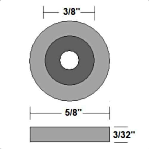 Neck Mounting Screw Ferrule Dimensions