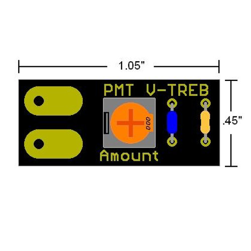 V-Treb Variable Treble Bleed Dimensions
