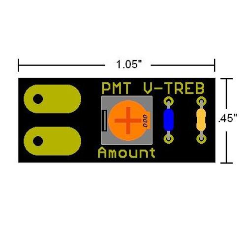 V-Treb Variable Treble Bleed Dimensions
