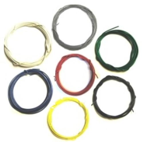 Stranded 26 Gauge Guitar Circuit Wire Bulk Pack-7 Colors