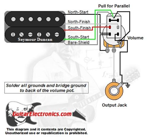 Miraculous 1 Humbucker 1 Volume Series Parallel Wiring Digital Resources Indicompassionincorg
