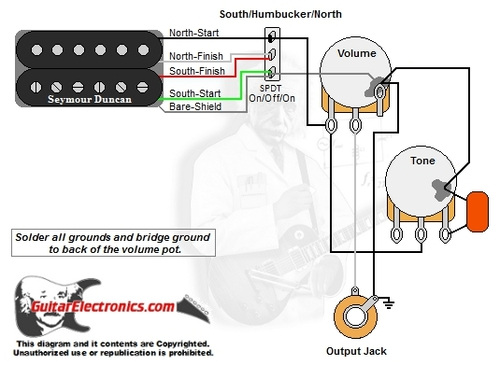 Emg Wiring Diagram 1 Volume 1 Tone from cdn11.bigcommerce.com
