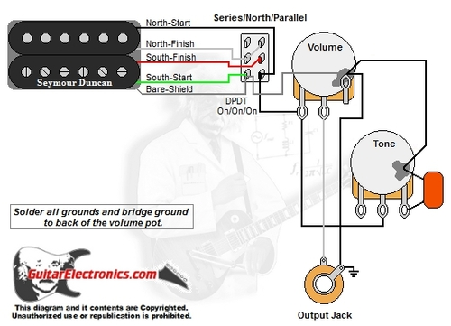 Wiring Diagram For Single Pickup Volume Tone from cdn11.bigcommerce.com