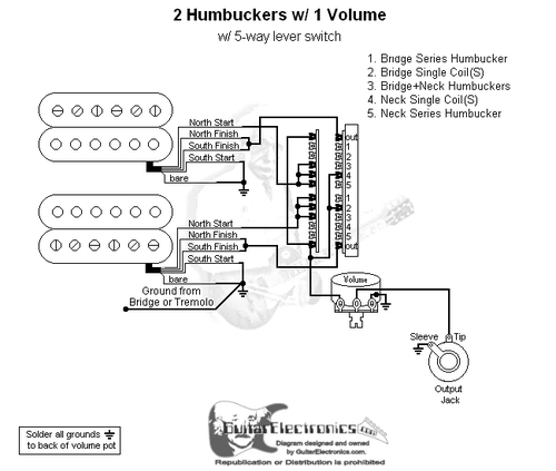 Wiring Diagram 1 Humbucker 1 Single Coil 5 Way Switch from cdn11.bigcommerce.com