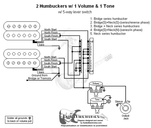 5 way switch humbucker wiring wiring diagrams user Dimmer Switch Wiring Diagram