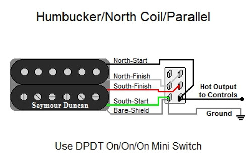 Humbucker/North Coil/Parallel