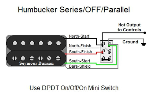 Humbucker Series  Off  Parallel