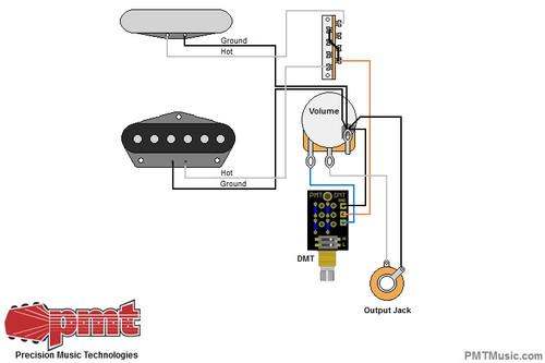 Tele w/ DMT Dual Mode Tone Control