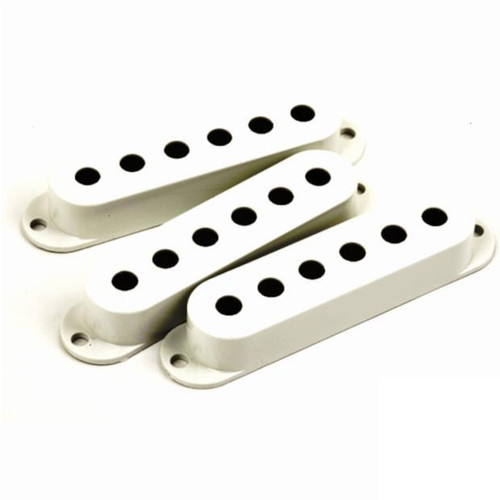 Fender Stratocaster Single Coil Pickup Covers-Parchment