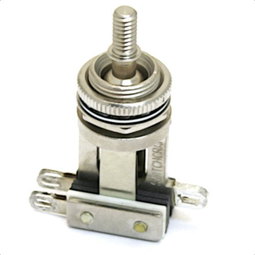 Switchcraft 3-Way Toggle Switch For Gretsch Guitars-Nickel