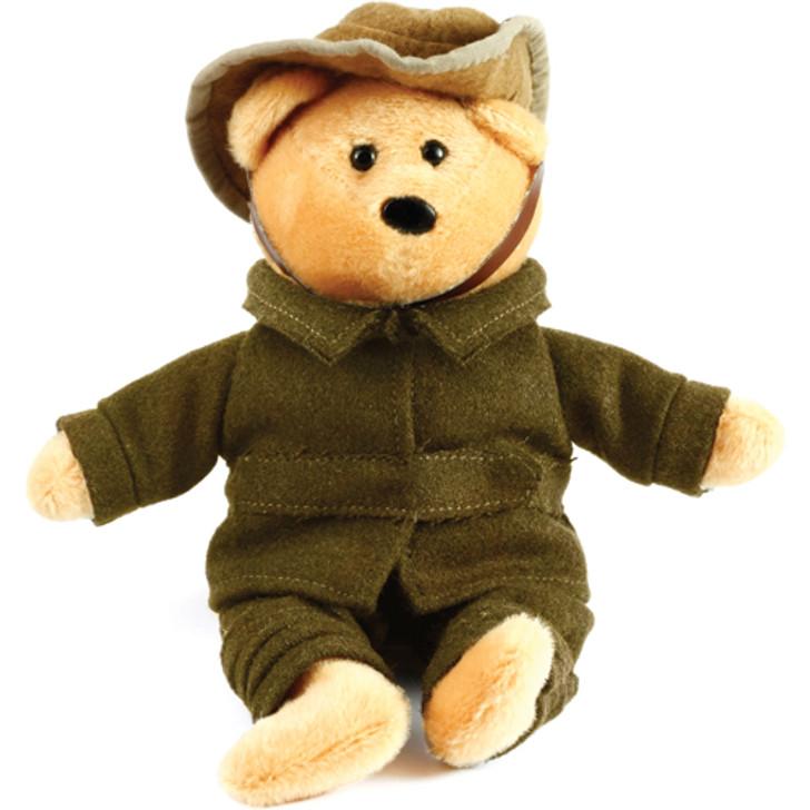 Little Aussie WW1 Digger Bear